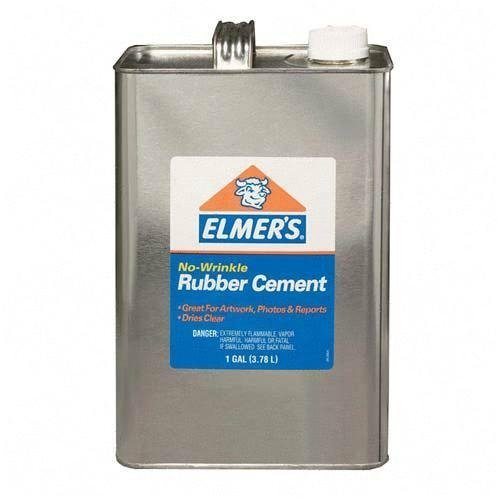 rubber cement adhesive