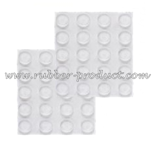 Silicone Pads for Glass Table Tops | Rubber Pads for Glass Table Tops